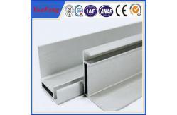 China marco del panel solar de aluminio modificado para requisitos particulares de la protuberancia según dibujos de estudio proveedor