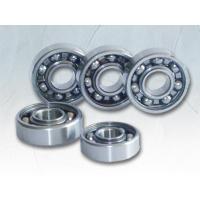 Textile machine, Fan, Auto chrome steel 6000 series Single Row Deep Groove Ball Bearings