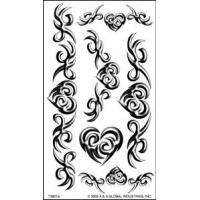 Portable Paper Necklace Temporary Body Art tattoo designs Stickers custom designs for lady