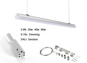 2ft - 6ft Dimming Exterior Linear Led Lighting Systems IP42 6000K 4000LM PF 0.9