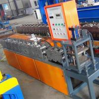 Rolling Shutter Roll Forming Machine / Door Frame Making Machine With Different Colors