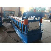 Roofing Sheet Standing Seam Roll Forming Machine High Speed 8-12m/min