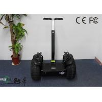 Black Smart 2000W Off Road Electrical Mobility Scooter Personal Vehicle