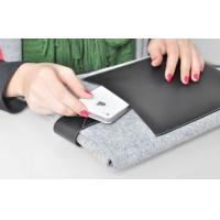 Waterproof 10 inch Tablet PC Pouch with Soft Flannel Cloth Material