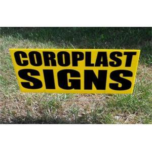 coroplast sheet printing , outdoors coroplast yard signs