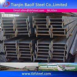 China ASTM A36,SS400 S235JR STEEL I BEAM DIMENSIONS on sale