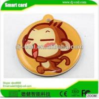 ISO 14443A mini active rfid waterproof laundry tag/sticker