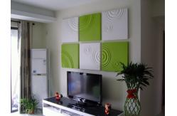 original diseado color pu 3d panel decorativo de pared para decoracin de interiores