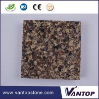 Vantop Stone Brand Big Grain Polished Man Made Quartz Stone for Sales