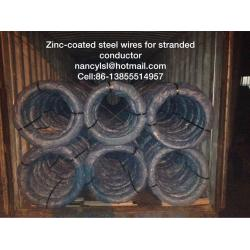 China Zinc-coated steel wires for stranded conductors on sale