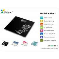 CW261A High Precision bathroom scale up to 400 pounds with Strain Gauge Sensors