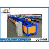 380V / 50Hz Door Frame Roll Forming Machine , Hydraulic Cut Steel Door Frame Machinery