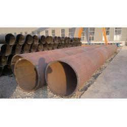 China Black Painted LSAW / ERW Welded Steel Pipe , Seamless Carbon Steel Pipe For Construction on sale