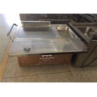Rectangle Stainless Steel Japanese Teppanyaki Grill With Thermostat Control