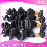 Wholesale human hair extension remy brazilian human hair loose wave