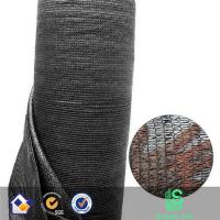 HDPE agricultural black color best quality greenhouse  sun shade net