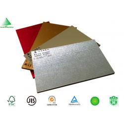 China Decorative interior aluminium sheet faced mdf wall board on sale