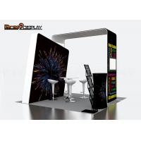 10x10ft Tension Fabric Booth Aluminum Frame Exhibition Booth Design 3x3 For Advertising