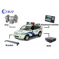 Police Car Vehicle PTZ Camera , Auto Tracking PTZ Surveillance Camera360° Rotation