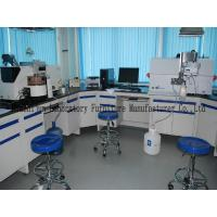 850mm Height Steel Lab Furniture 1.0mm Cold Rolled Material With Sinks Faucets