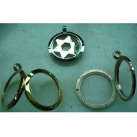 Brand OEM Top Quality 30MM,40MM Round Shape No Glass Lockets With Metal Plates