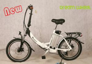 China 36V 10Ah li-ion battery 2017 TUV certificated folding electric bike, EN15194  standard foldable ebike with 250W supplier