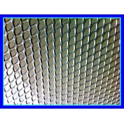 China Indoor / Outdoor Aluminum Expanded Metal Mesh Panels For Wall Or Ceiling on sale