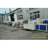 PP PE PVC Plastic Pipe Extrusion Line With ABB Frequency Control