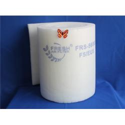 China F5 / EU5 ceiling filter for auto spray booth synthetic fiber on sale