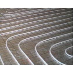 China Galvanized / Black Wire Welded Wire Mesh Panels For Floor Heating System on sale
