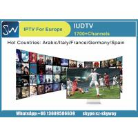 1 year IUDTV subscription Best French channels package support E2 MAG Andriod TV BOX