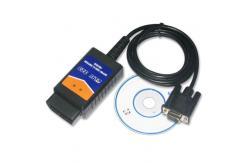 China 9600 - 38400 Baud Rate RS232 COM Elm 327 Obd Interface Display Current Sensor Data supplier