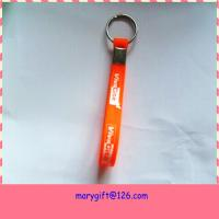 silicone key holder bracelet with any of customer logo or text design