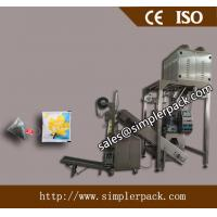 Pyramid/Triangle Teabag Packing Machine with outer Envelope (with thread and tag)