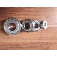 Low noise machine deep groove ball bearing 6200 series with double metal seals