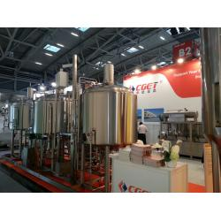 China Beer Brewery Project from CGET-Zhongde company on sale