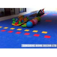 Commercial Playground Playground Safety Surfacing Tiles Creative For Kids