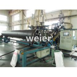 China HDPE Pipe Production Line / Extrusion Machine For HDPE Winding Wall Pipe on sale
