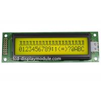 FSTN 20x2 Dot Matrix LCD Display Module 12 O ' Clock Angle ISO14001 Approved