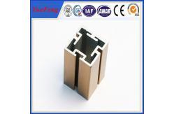La Chine 6000 séries d'aluminium ont expulsé l'usine en aluminium d'extrusion de fente de la fente de profil/OEM t fournisseur