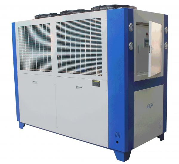 China Electronic Industrial Scroll Type Air To Water Chiller / Air Cooled Chiller Unit supplier