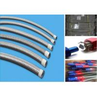 An6 oil cooler hose rubber 304 stainless steel wire braided an hose high pressure temperature assembly hydraulic hose li