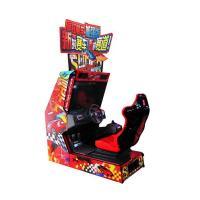 Crazy Speed Twin Arcade Racing Game Machine , Amusement Commercial Arcade Machines