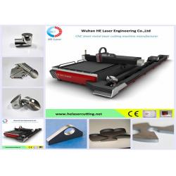 China 1070nm Carbon Steel / Silicon Steel Metal Laser Cutting Machine Water Cooling on sale