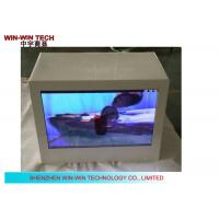 HD 19 Inch Transparent LCD  Advertising Player , Advertising Display Box