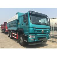 Automatic 6X4 Heavy Dump Truck With Cover 5800 * 2300 * 1500mm High Efficiency