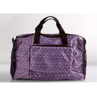Foldable Sports Polyester Ladies Travel Bags For Travel And Weekend
