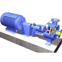 Horizontal Stainless Steel Non Clog Centrifugal Pump For Paper Machinery