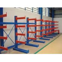 Single / Double Side Warehouse Cantilever Steel Rack Custom Size ISO9001 / SGS