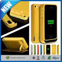 Thin Rechargeable Cell Phone Battery Case Charger Pack 4200mAh For Iphone 5C